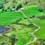 hermosa · irlandés · esmeralda · verde · campos - foto stock © igabriela