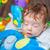baby falling asleep stock photo © igabriela