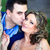 jeunes · mariage · couple · baiser · extérieur - photo stock © igabriela