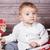 ребенка · мальчика · Рождества · портрет · 1 · год - Сток-фото © igabriela
