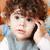 bebek · telefon · kız · çocuklar · çocuklar · çocuk - stok fotoğraf © igabriela