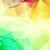 amarelo · verde · abstrato · mosaico · triângulo · formas - foto stock © igor_shmel