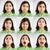 nine moods stock photo © iko