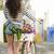 wonen · zoals · lokaal · mooie · vrouwelijke · toeristische - stockfoto © iko