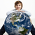 jonge · reiziger · wereldbol · man · wereld · studio - stockfoto © iko