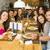 grupo · amigos · Pareja · fiesta · restaurante · hombre - foto stock © iko