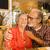 yaşlı · çift · restoran · iyi · zaman · gıda · sevmek - stok fotoğraf © iko