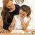母親 · 女の子 · 学校 · 白人 · 女性 · 教師 - ストックフォト © iko