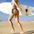 волны · молодые · Surfer · девушки · работает · доска · для · серфинга - Сток-фото © iko