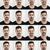 jeune · homme · visage · expressions · collage · jeunes - photo stock © iko