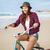 surfista · nina · equitación · hermosa · bicicleta · playa - foto stock © iko