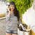 mooi · meisje · telefoongesprek · mooie · jonge · vrouwelijke - stockfoto © iko