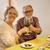 老夫婦 · レストラン · 良い · 時間 · 食品 · 愛 - ストックフォト © iko