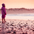 little girl in the beach stock photo © iko