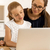 молодые · матери · преподавания · дочь · компьютер · работу - Сток-фото © iko