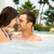 Young couple in a jacuzzi stock photo © iko