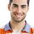 pessoas · felizes · retrato · jovem · hispânico · homem · barba - foto stock © iko