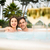 Tasting wine in a jacuzzi stock photo © iko