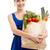 kadın · meyve · alışveriş · çantası · alışveriş - stok fotoğraf © iko
