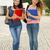 Öğrenciler · yürüyüş · okul · gençler · mutlu · kampus - stok fotoğraf © iko