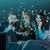 Scared teenage watching movies  stock photo © iko