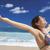 красивой · оружия · открытых · расслабляющая · пляж - Сток-фото © iko