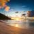 görmek · tropical · island · Seyşeller · palmiye · ağaçları · plaj - stok fotoğraf © iko