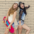meninas · dois · belo · jovem - foto stock © iko