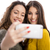 jonge · vrouwen · grappig · samen · twee · meisjes - stockfoto © iko