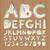 алфавит · номера · бумаги · дизайна · ножницы - Сток-фото © ikopylov