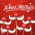 christmas party card santa claus moustache stock photo © ikopylov