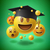 concept for graduation group of smiley emoticons stock photo © ikopylov