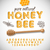 latin alphabet and numbers made of honey stock photo © ikopylov