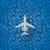 airplane flies over a sea stock photo © ikopylov