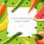 vers · fruit · groenten · restaurant · menu · ontwerp · blad - stockfoto © ikopylov