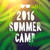 summer camp 2016 themed and vacation poster stock photo © ikopylov