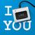 i like you with keyboard key stock photo © ikopylov