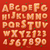 lettera · cookies · cookie · carattere · biscotto - foto d'archivio © ikopylov