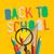 tábla · vissza · az · iskolába · szöveg · iskolatábla · könyv · iskola - stock fotó © ikopylov