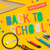 welcome back to school on yellow background stock photo © ikopylov