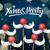Navidad · fiesta · tarjeta · papá · noel · bigote - foto stock © ikopylov