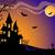 halloween · vetor · cartão · céu · casa · abstrato - foto stock © iktash