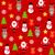 sem · costura · bonitinho · teste · padrão · do · natal · papel · árvore · festa - foto stock © iktash