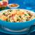 couscous · gamberetti · funghi · mandorla · melograno · piatto - foto d'archivio © ildi