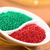 red and green sprinkles stock photo © ildi