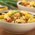 elbow pasta with sausage cheese and green onion stock photo © ildi