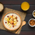 oatmeal porridge with fresh fruits stock photo © ildi