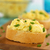 rántotta · francia · kenyér · szeletek · zöldhagyma · fa · deszka · szelektív · fókusz - stock fotó © ildi