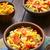 macarrão · salada · fresco · queijo · tomates - foto stock © ildi