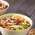 casero · ensalada · de · col · blanco · tazón · plato · dieta - foto stock © ildi